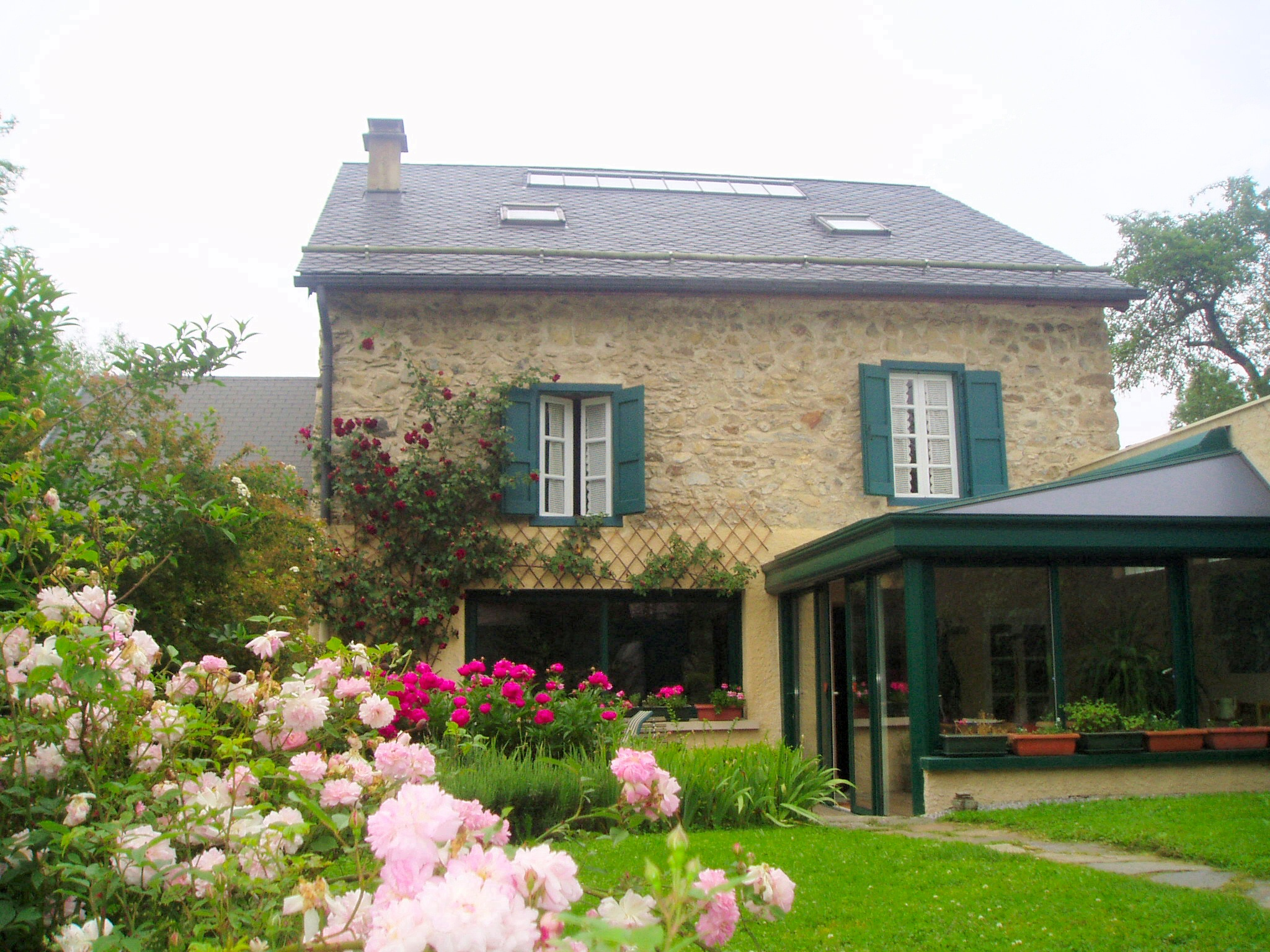 Jardin de maison